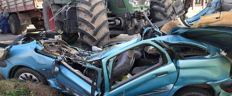 Żabowo. Kierowca ciągnika wymusił pierwszeństwo. Nie żyje 43-latka