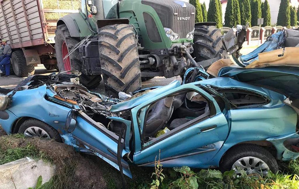 Wypadek w Żabowie