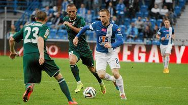 Lech Poznań - Śląsk Wrocław 3:0. Szymon Pawłowski