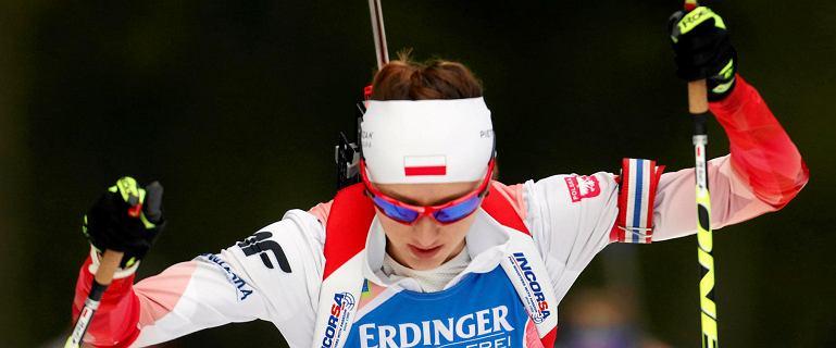 Biathlon. Monika Hojnisz piąta w sprincie w Hochfilzen. Waśkiewicz: Jest super, ale wolę poczekać niż się rozczarować