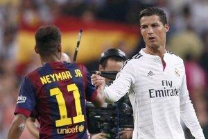 Cristiano Ronaldo napisał do Neymara po mistrzostwie FC Barcelona