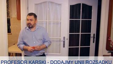 Spoty wyborcze Karola Karskiego stały się hitem nie tylko w internecie