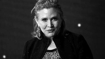 Carrie Fisher nie żyje. Aktorka najbardziej znana z roli księżniczki Lei, a także producentka filmowa, miała 60 lat