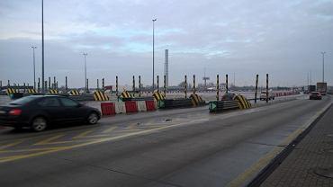 punkt poboru opłat na autostradzie A2 w Pruszkowie