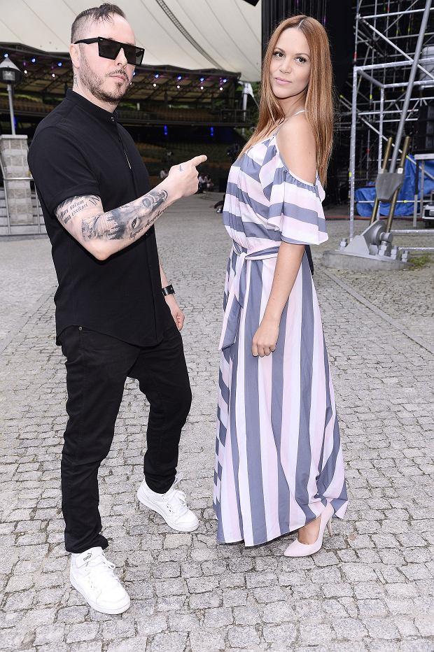Zdjęcie numer 8 w galerii - Top of the Top Festival Sopot 2017. Piękna Szroeder, jeszcze szczuplejsza Chylińska i ONA. Przyszła w koszulce ze swoją podobizną!