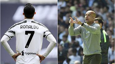 Cristiano Ronaldo i Pep Guardiola