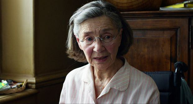 "FILE - This publicity image released by Sony Pictures Classics shows Emmanuelle Riva in a scene from ""Amour."" Riva is nominated for an Academy Award for best actress for her role in the film. ""Amour"" is also nominated for an award in the Foreign Language Film category. The 85th Academy Awards air live on Sunday, Feb. 24, 2013, on ABC. (AP Photo/Sony Pictures Classics)"