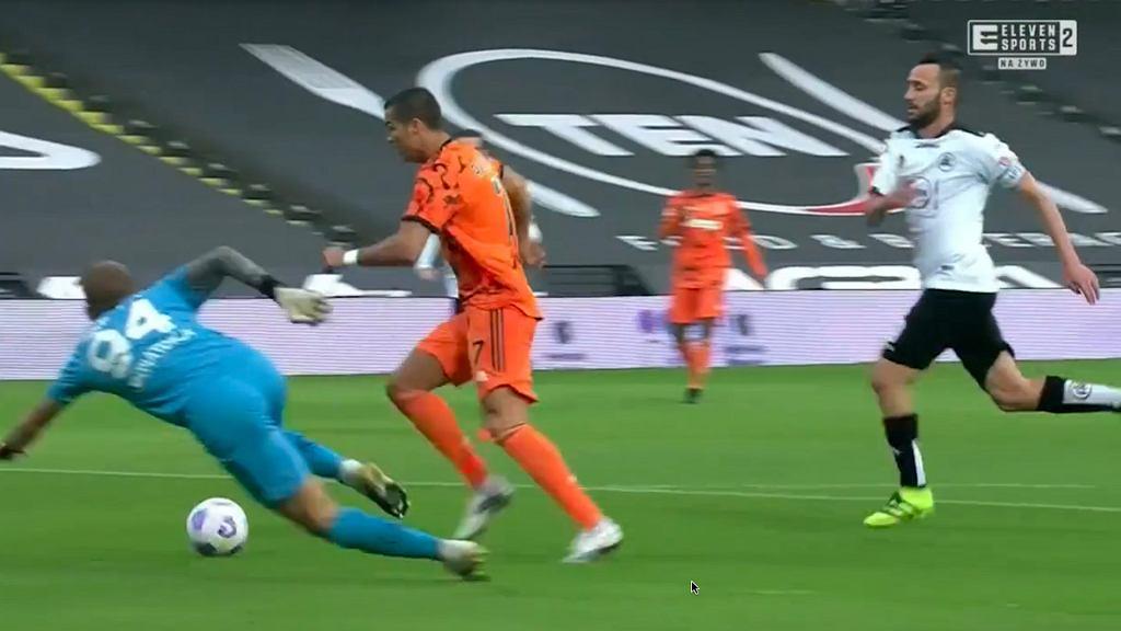 Cristiano Ronaldo strzela pierwszego gola po zakażeniu COIVD-19