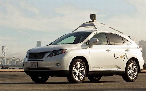 Automatyczny samochód Google - Lexus RX450h