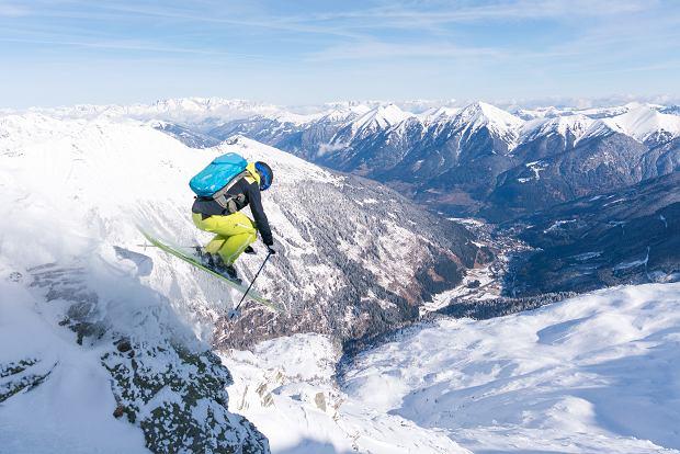 Gastein w Austrii to raj dla osób, które uwielbiają freeride