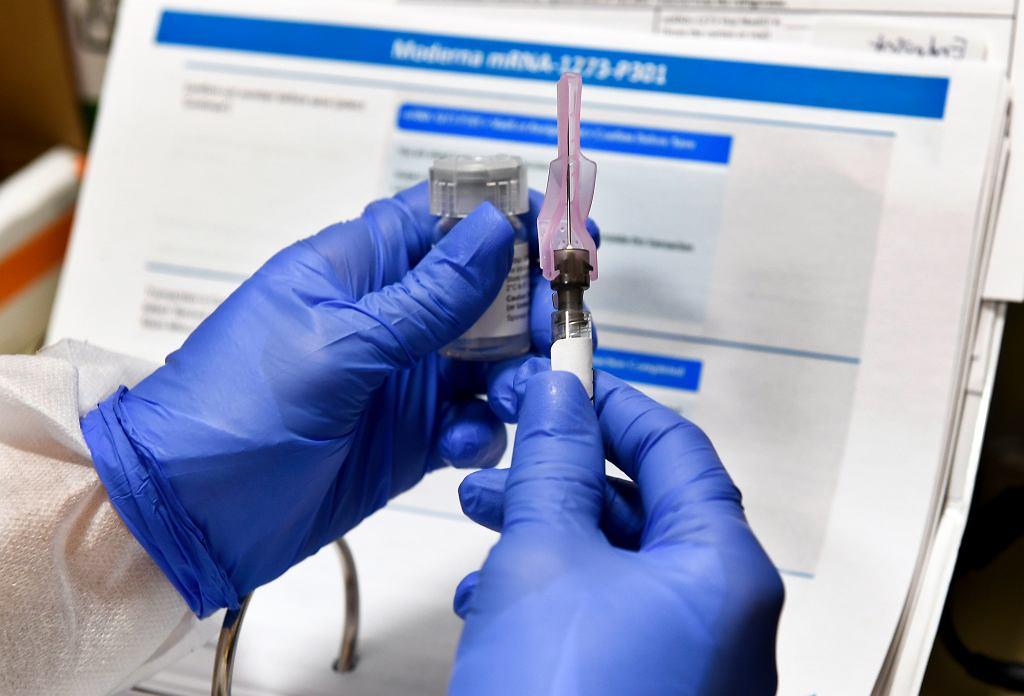 Nowa szczepionka przeciwko koronawirusowi - firmy Moderna