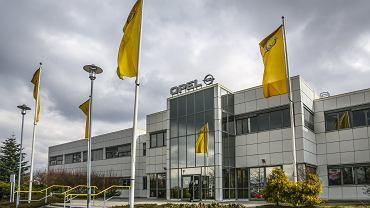 Budynek fabryki Opla w Gliwicach