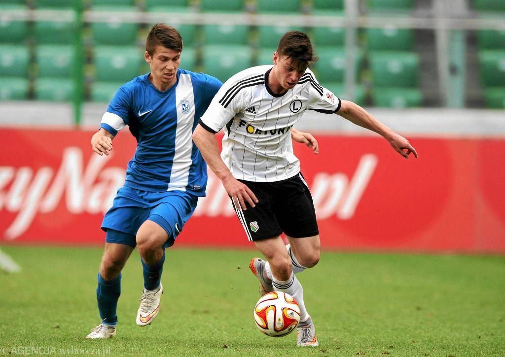 Finał Centralnej Ligi Juniorów: Legia Warszawa - Lech Poznań 3:0. Krystian Sanocki