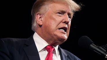 Donald Trump, były prezydent USA