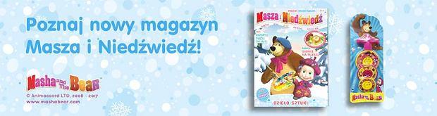 Masza i Niedźwiedź - czasopismo wydawnictwa Egmont
