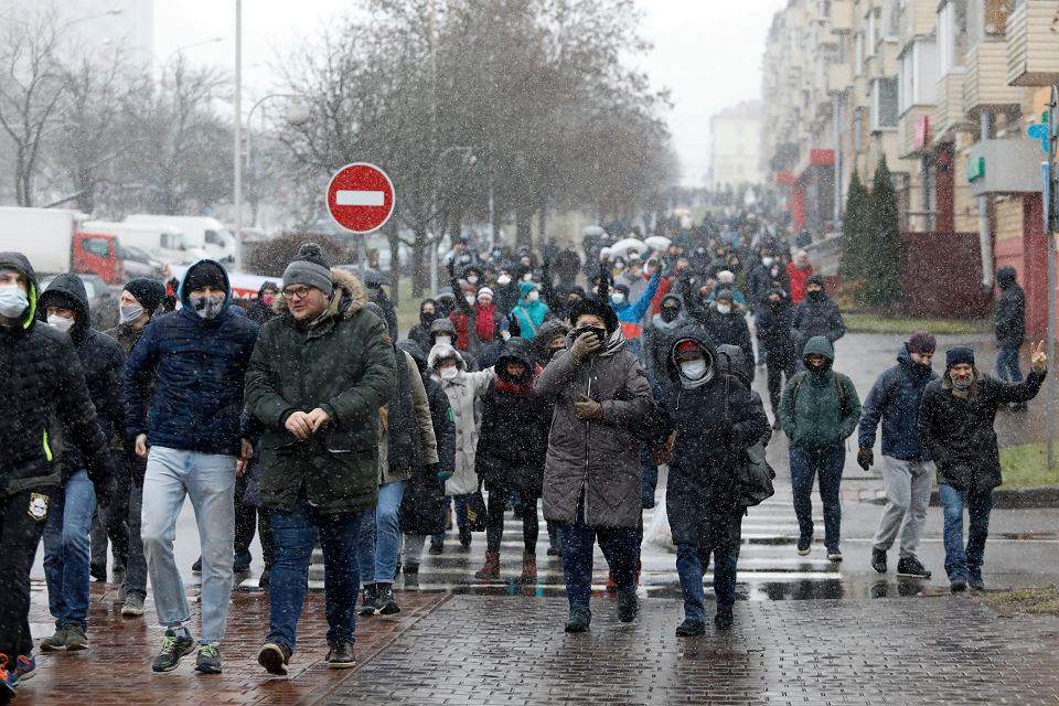 Zdjęcie numer 1 w galerii - Na Białorusi powstanie platforma rejestrująca przestępstwa siłowików. Ujawniono też kolejne dane funkcjonariuszy