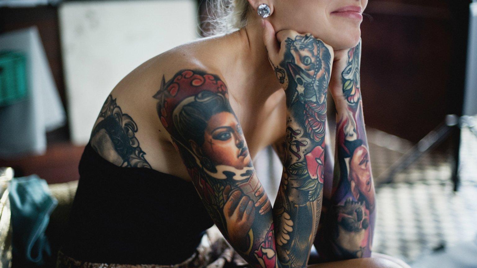 Yvonne Heartmann Ludzie Myślą że Skoro Mam Tatuaże To