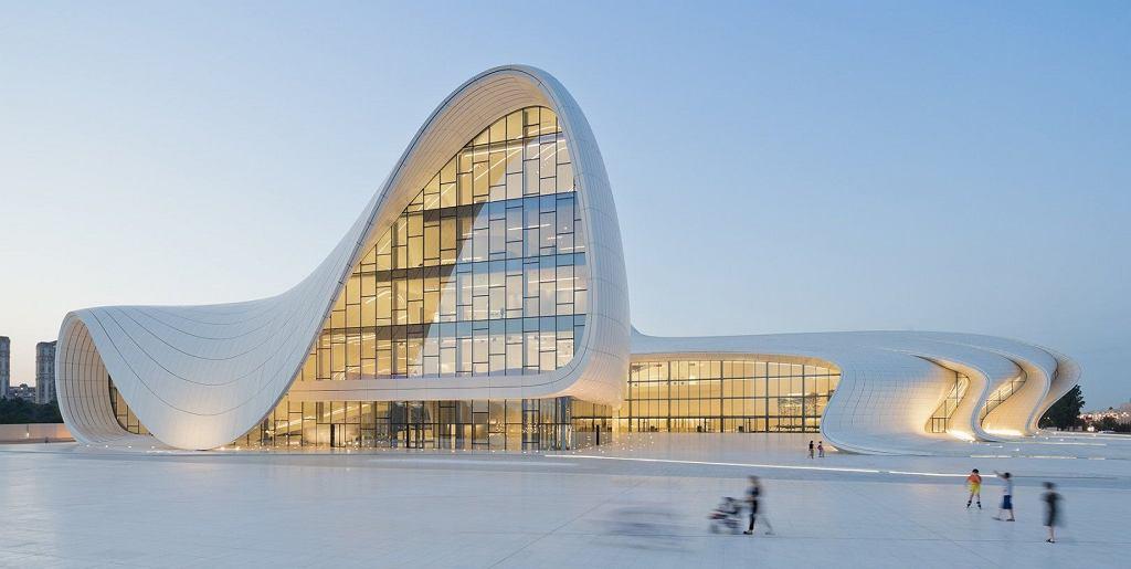 Centrum Kultury Azerskiej w Baku (Azerbejdżan, 2012)