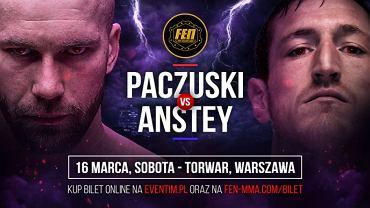 Radosław Paczuski VS Darren Anstey