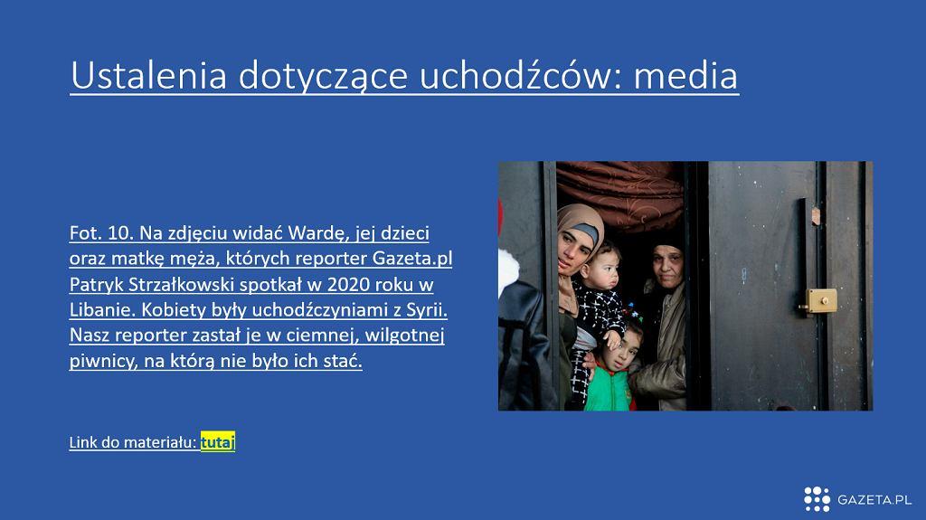 Prezentare despre refugiați