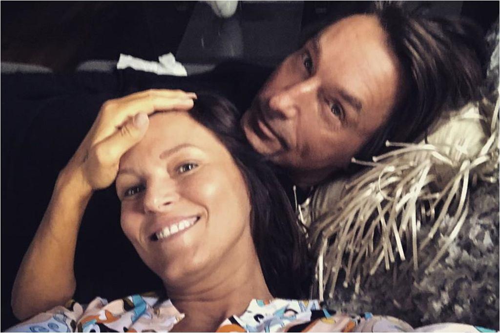 Ilona Montana z mężem