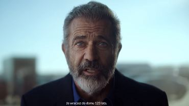 Mel Gibson w spocie PFN
