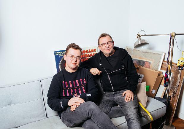 Tymek Bryndal i Rafał Bryndal