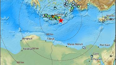 Według Europejskiego Śródziemnomorskiego Centrum Sejsmologicznego trzęsienie miało miejsce na głębokości 2 km