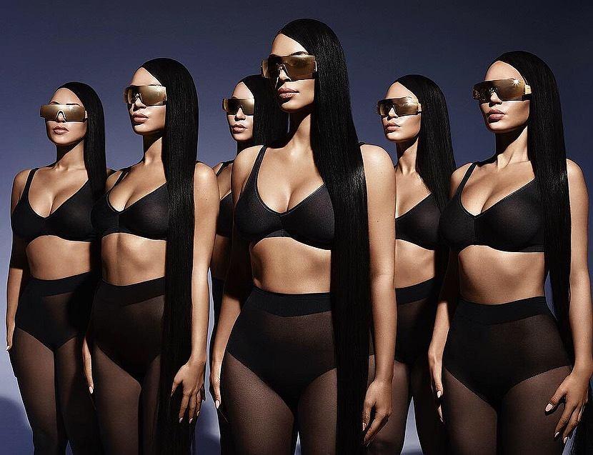 Kim Kardashian okulary
