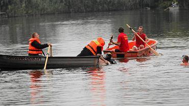 Akcja ratownicza nad wodą (zdjęcie ilustracyjne)