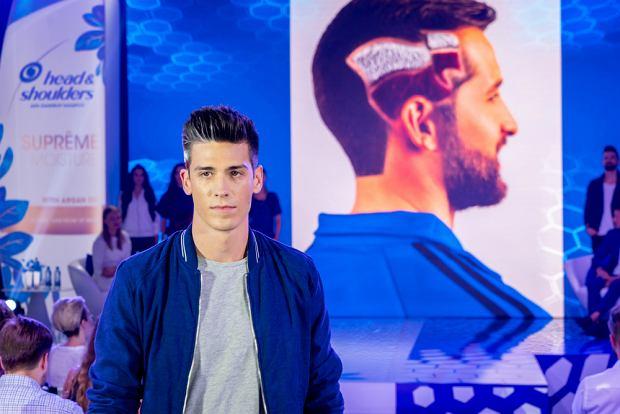Pokaz męskich fryzur na konferencji Head&Shoulders