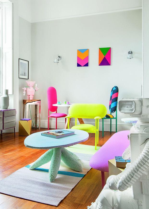 Kolorowa kawalerka w Londynie