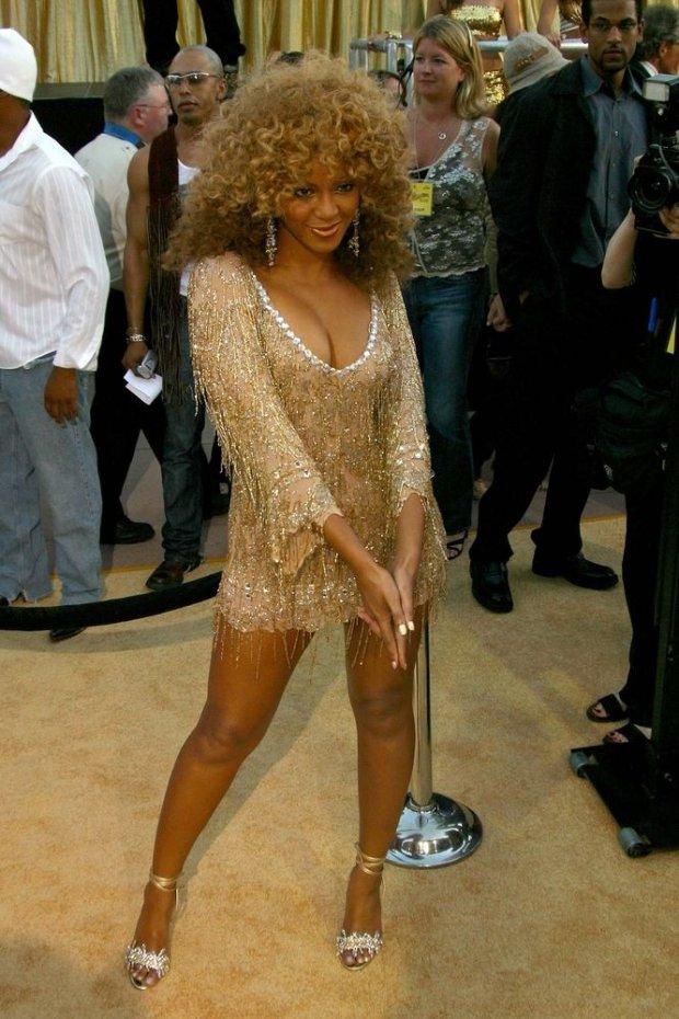 Beyonce w 2002 roku