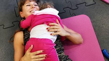 Anna Lewandowska pokazała, jak trenuje z córką