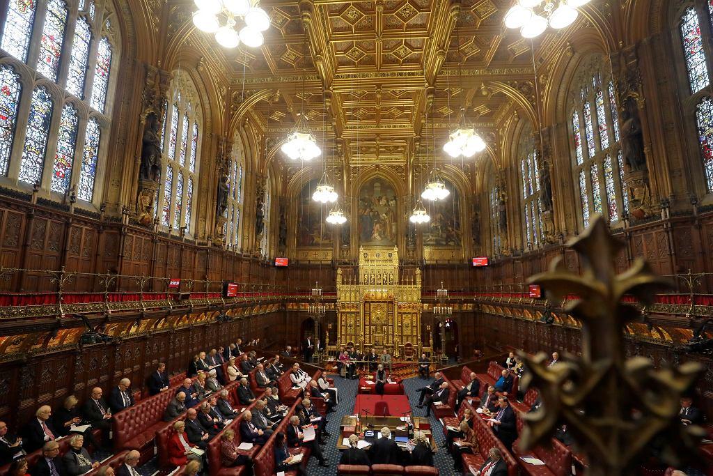 Wielka Brytania. Debata na temat brexitu w Izbie Lordów.
