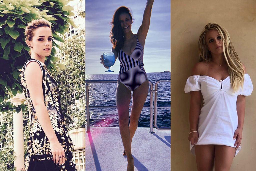 Emma Watson, Nina Dobrev, Britney Spears - figura
