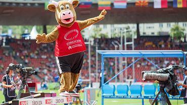 Cooly - maskotka lekkoatletycznych ME w Zurychu
