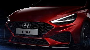 Hyundai i30 2020 szkic