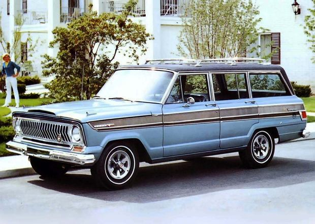 Jeep Super Wagoneer z 1966 r.