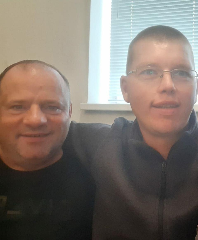 Robert Działowski (z lewej) i Przemysław Kamiński (z prawej)