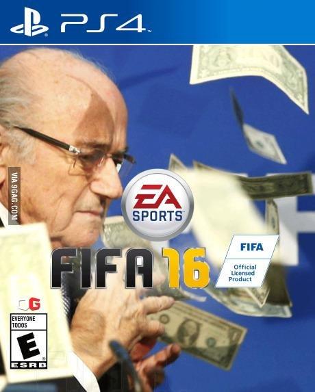 Zdjęcie numer 5 w galerii - Sepp Blatter, deszcz banknotów i... siatka na motyle? [MEMY]