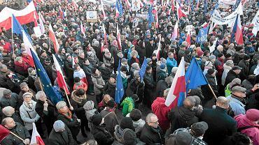Manifestacja KOD w Poznaniu