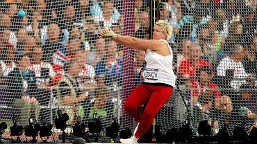 Anita Włodarczyk podczas Igrzysk Olimpijskich w Londynie