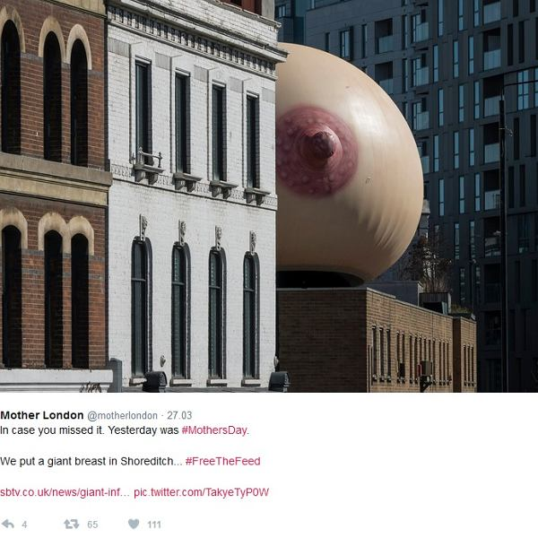 Projekt agencji reklamowej 'Mother London'