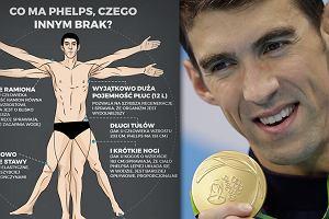Rio 2016. Michael Phelps i tajemnica jego sukcesów