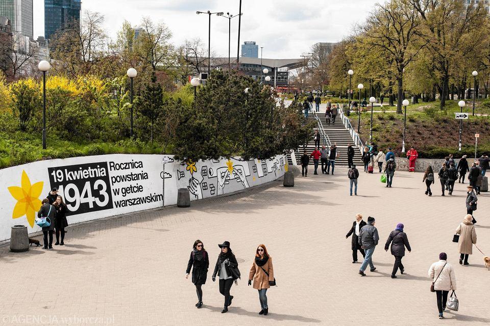 Zdjęcie numer 8 w galerii - Rocznica powstania w getcie warszawskim. Żonkil oznacza pamięć