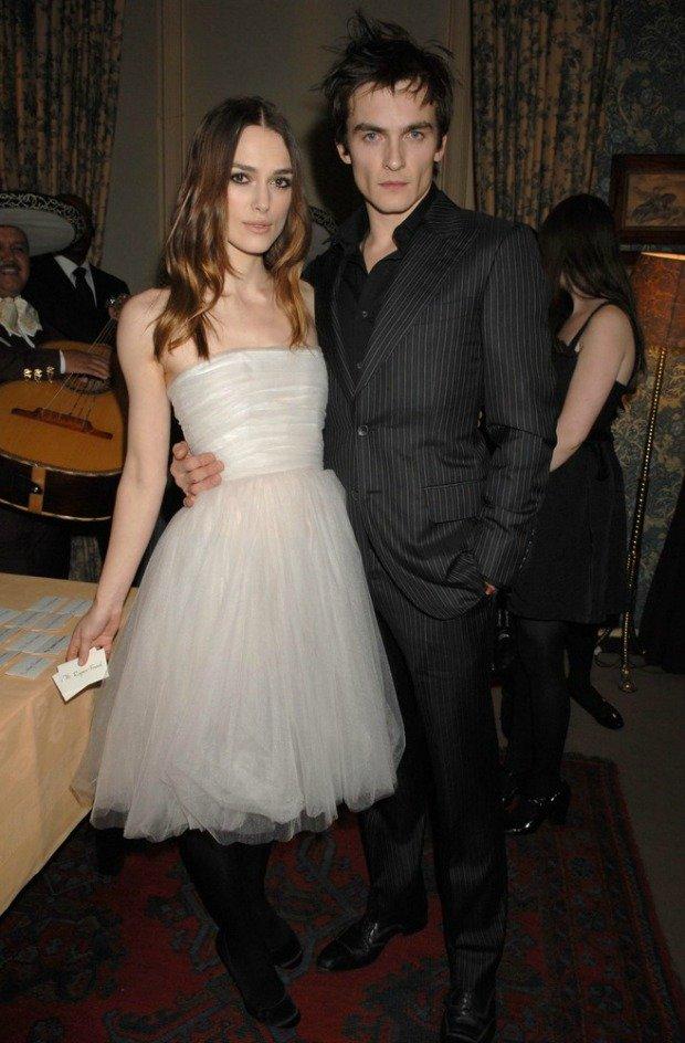 Keira Knightley z mężem