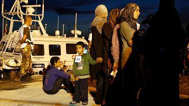 Uchodźcy z Syrii w Syrakuzach na Sycylii