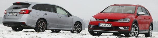 Subaru Levorg vs Volkswagen Golf Alltrack