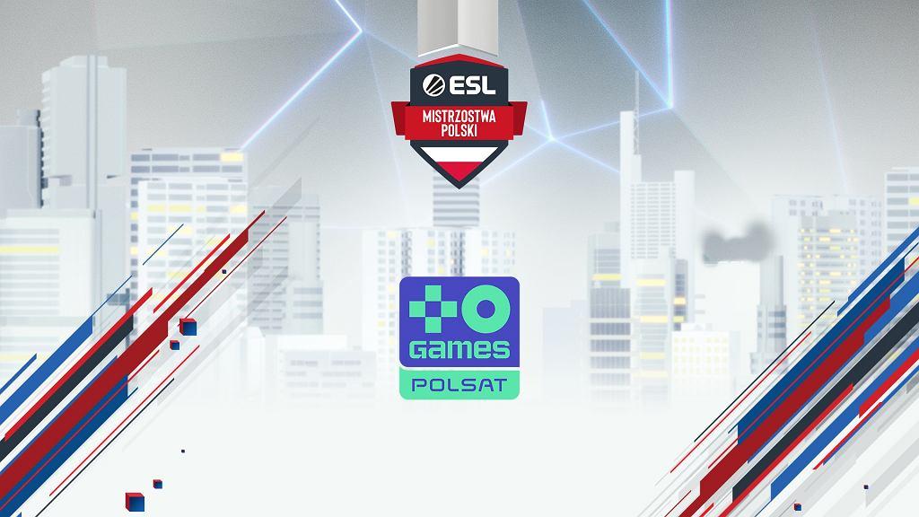 Plakat ESL mistrzostw Polski w CS:GO